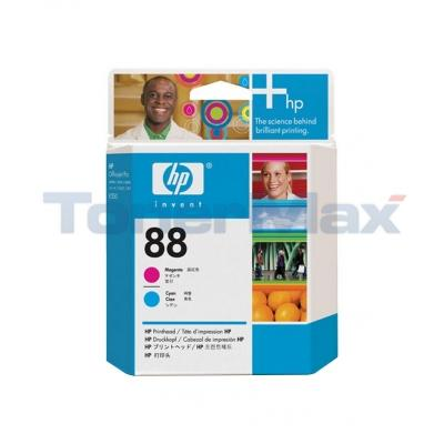 HP NO 88 PRINTHEAD MAGENTA AND CYAN